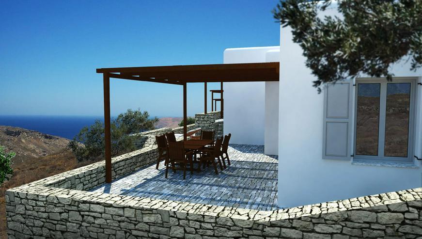 Bild 3: Wunderschöne Häuser auf den Kykladen