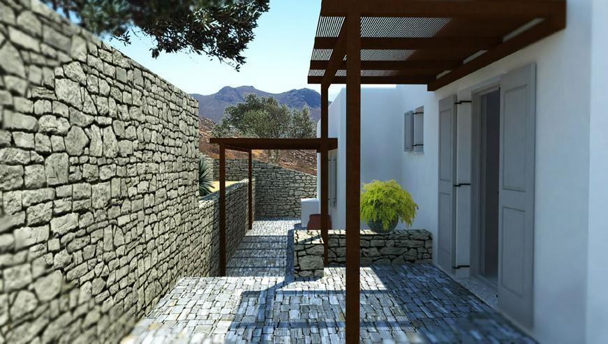 Bild 4: Wunderschöne Häuser auf den Kykladen