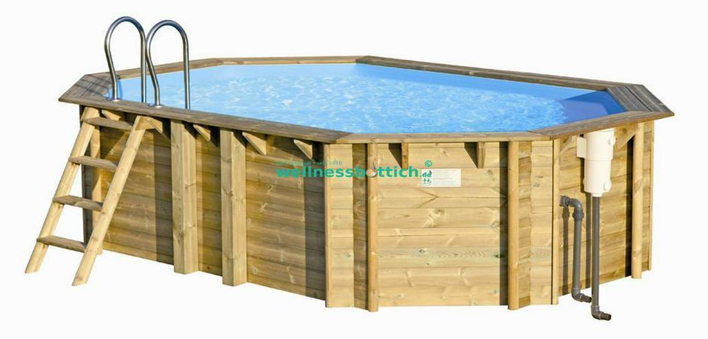 Bilder zu aufstellpool holzpool pool schwimmbecken in for Garten pool 4m