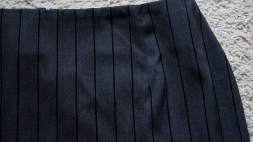 Bild 2: Stylischer Minirock, Grau-schwarz, Gr. 40