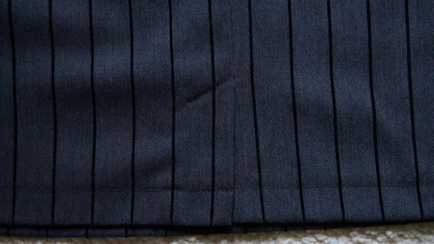 Bild 4: Stylischer Minirock, Grau-schwarz, Gr. 40