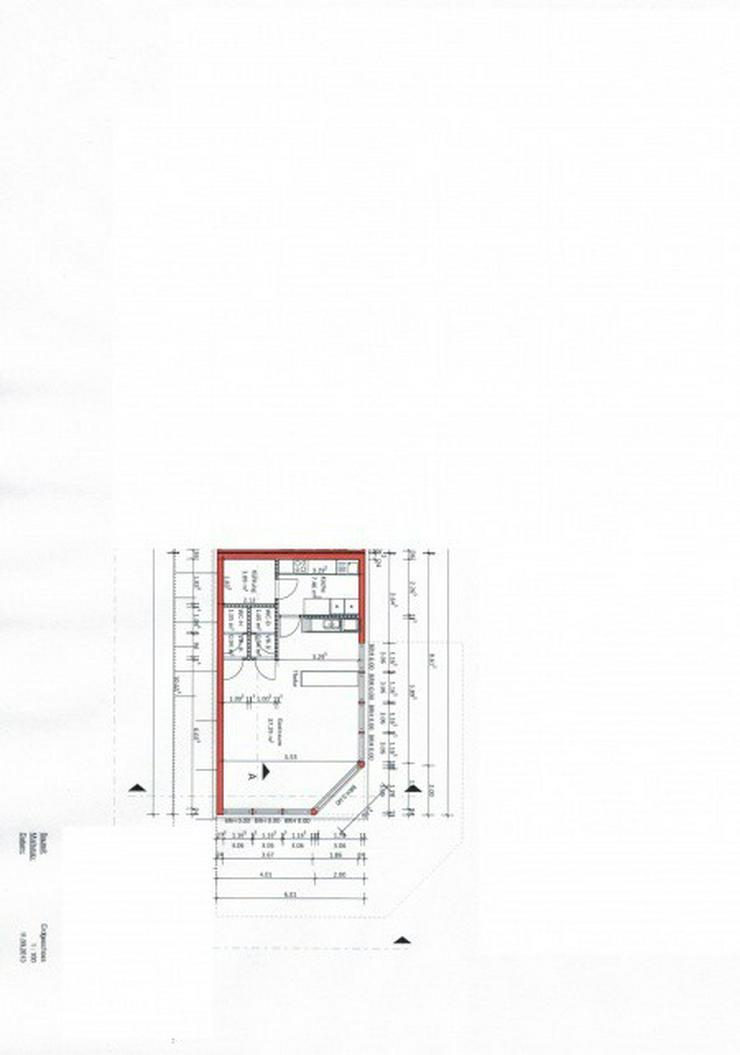 Bild 2: Neu erstellter Imbiss im Fachmarktzentrum