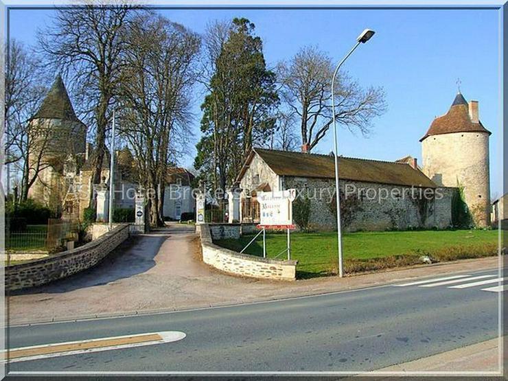Bild 3: Prachtvolles Schloss / Schlosshotel südlich von Paris - Orleans mit viel Grundbesitz zu k...