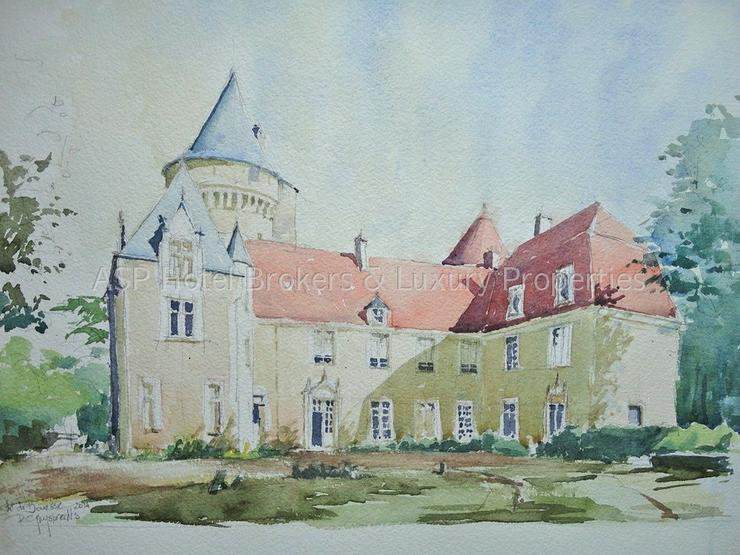 Bild 5: Prachtvolles Schloss / Schlosshotel südlich von Paris - Orleans mit viel Grundbesitz zu k...