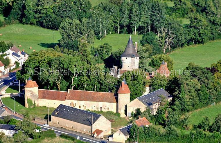 Prachtvolles Schloss / Schlosshotel südlich von Paris - Orleans mit viel Grundbesitz zu k...