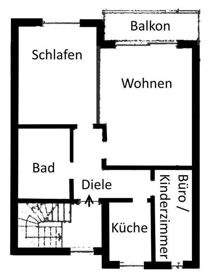 Bild 5: Ankommen und sich wohlfühlen! Herrliche Eigentumswohnung in bevorzugter Wohnlage in Bad D...