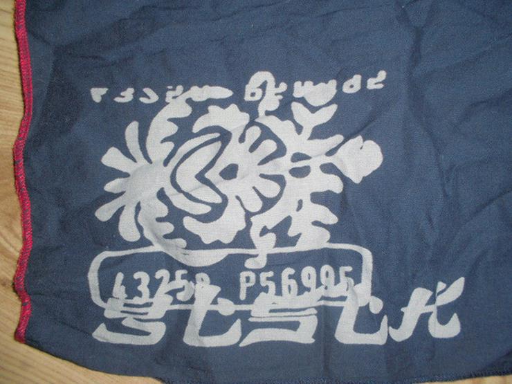 Bild 2: Leichter Blauer Schal mit schönem Druckmotiv