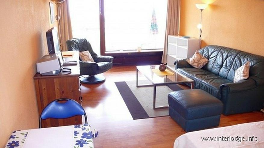 INTELODGE Möbliertes Apartment mit Balkon in der Maritim Residenz in Gelsenkirchen - Wohnen auf Zeit - Bild 1