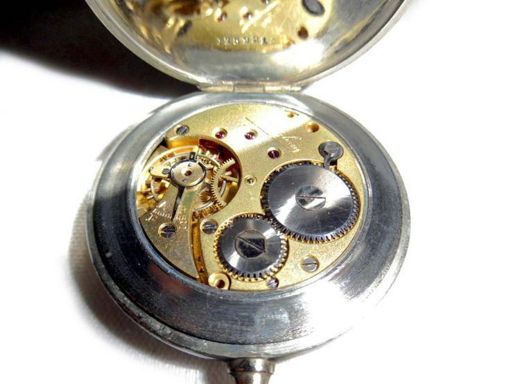 Bild 4: Alte Taschenuhr von Junghans - ca. Jahr 1930