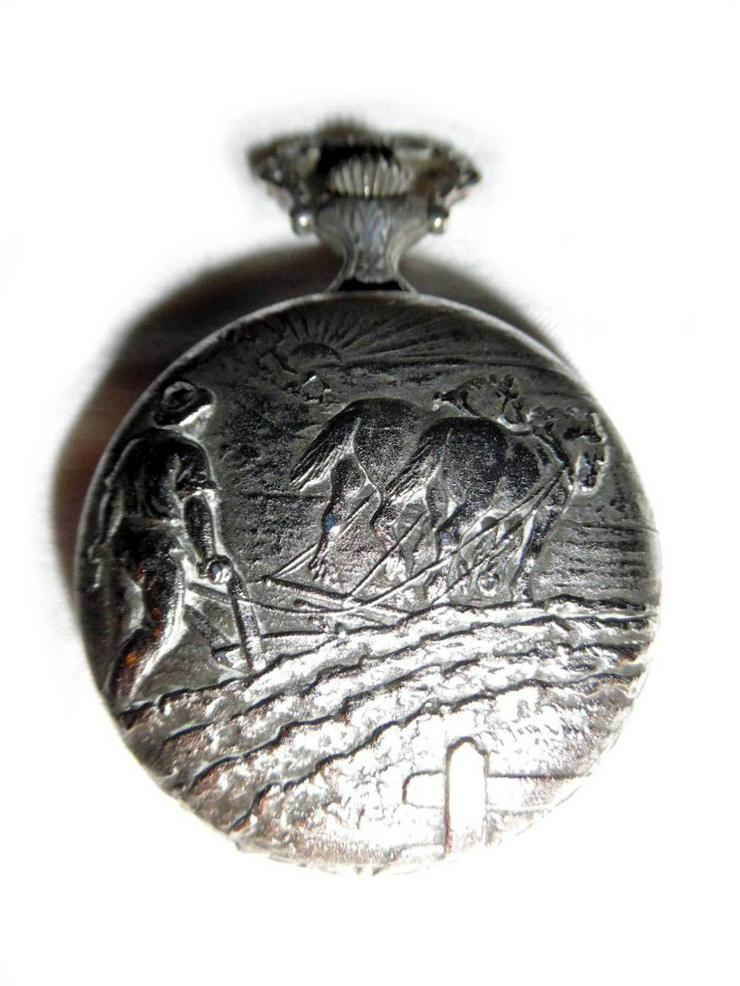 Bild 2: Schöne Bauerntaschenuhr von Bergland