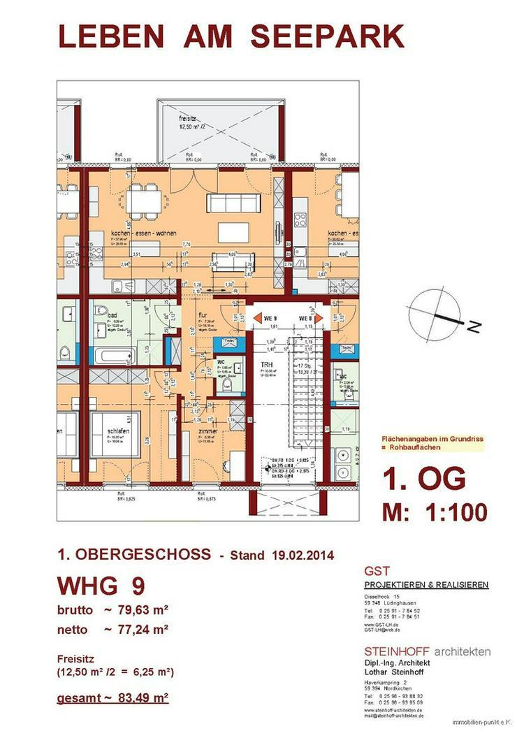 Ihre neue Einbauküche ist schon da - planen sie Ihren Einzug noch in 2015! - Wohnung kaufen - Bild 1