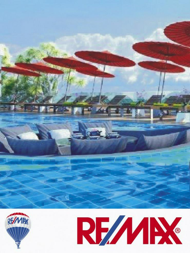 Bild 3: Beste Lage in Strandnähe, Meerblick, komplett ausgestattet in Naklua, Pattaya (Thailand) ...
