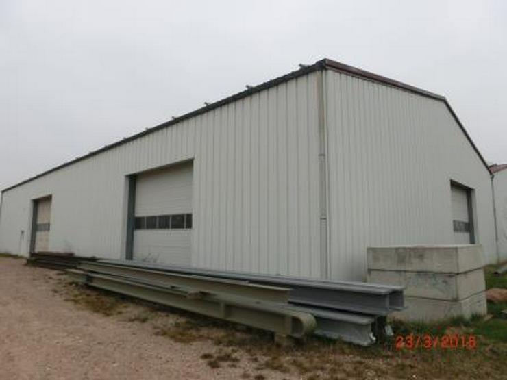 Isolierte Lagerhalle mit 6 Rolltoren und Industrieboden, LKW-Zufahrt - Gewerbeimmobilie mieten - Bild 1