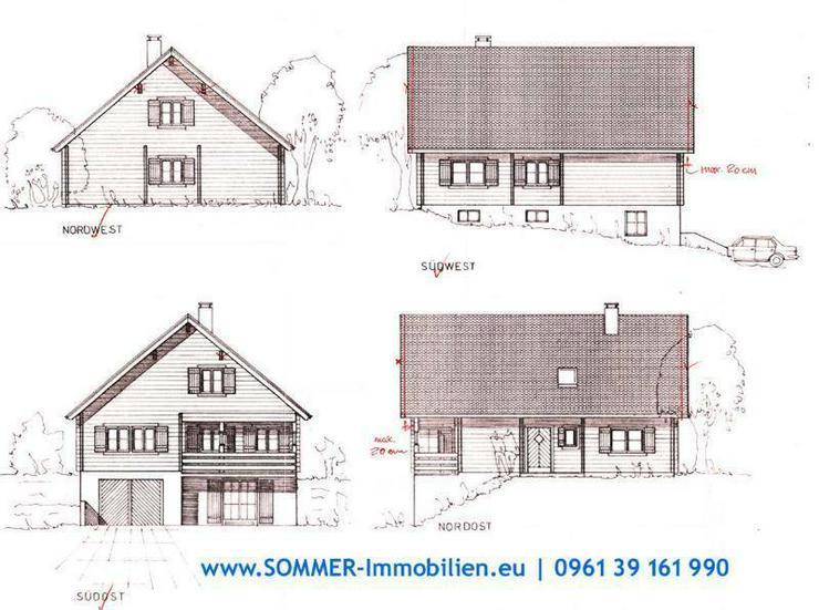 Holzhaus Südtiroler Blockbohlen Neualbenreuth kaufen - Haus kaufen - Bild 1