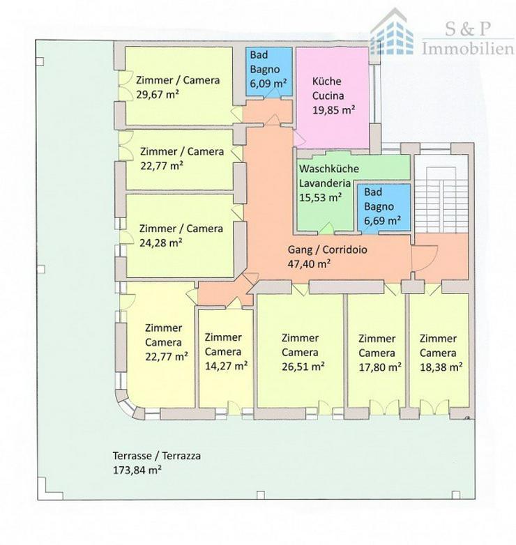Wohnung mit 265 m² netto in Meran