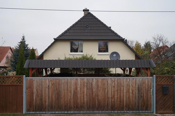Bild 2: 2003 in ländlicher Lage erbautes Niedrigenergiehaus mit viel Platz innen und draussen