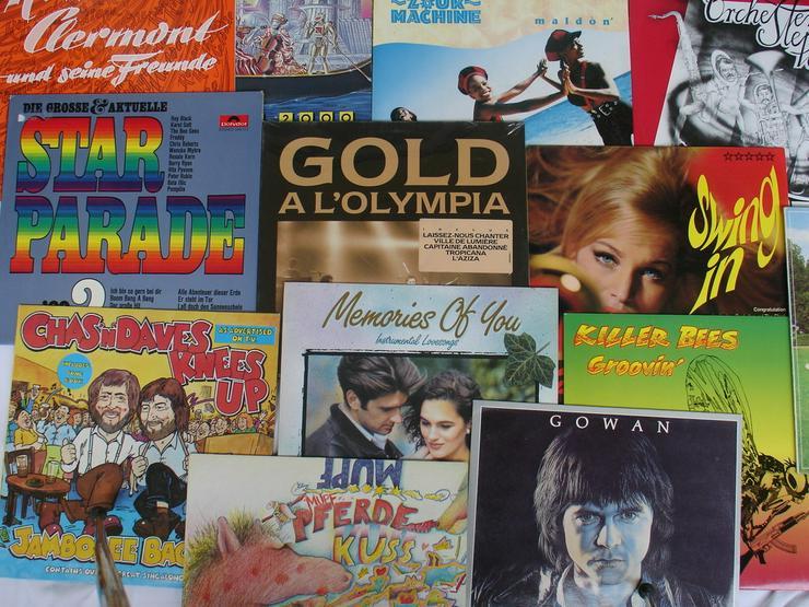 Vinyl-LPs der 70/80er Jahre- 30 St. im Paket