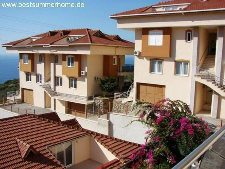 ***KARGICAK IMMOBILIEN***Duplex Wohnung oder Penthaus mit Meerblick in Kargicak / Alanya - Wohnung kaufen - Bild 1