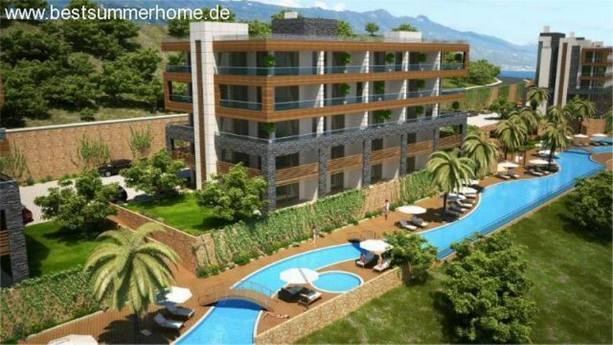 ***KARGICAK IMMOBILIEN***Moderne Wohnungen mit Meerblick in Kargicak / Alanya - Wohnung kaufen - Bild 1