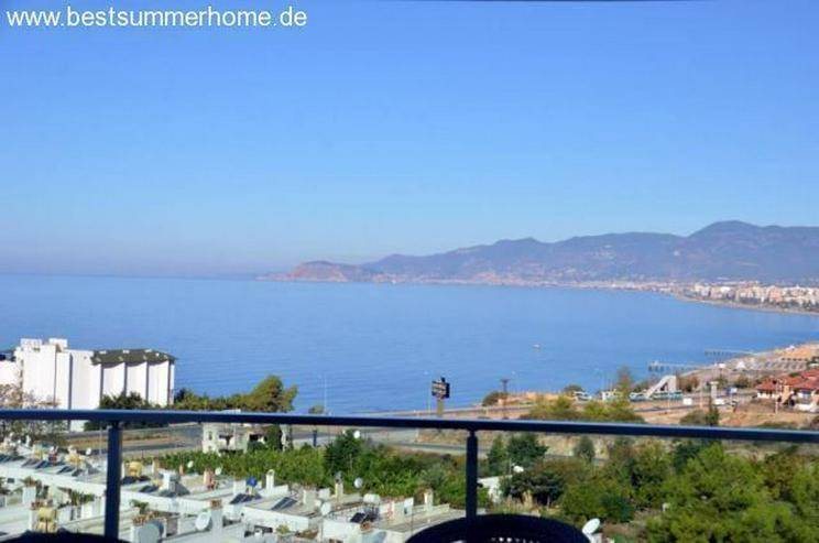 ***KARGICAK IMMOBILIEN***Moderne Residenz mit Meerblick in ruhigem Ort. Alanya Kargicak. - Wohnung kaufen - Bild 1