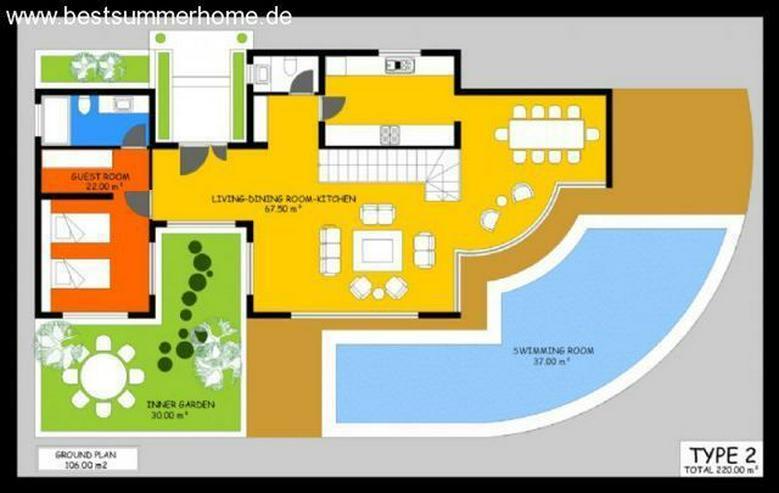 Bild 5: ***ALANYA REAL ESTATE*** Moderne Villa mit Meerblick und eigenem Pool in Kargicak / Alanya