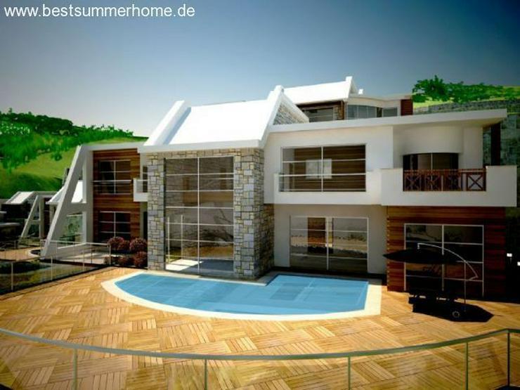 ***ALANYA REAL ESTATE*** Moderne Villa mit Meerblick und eigenem Pool in Kargicak / Alanya - Haus kaufen - Bild 1
