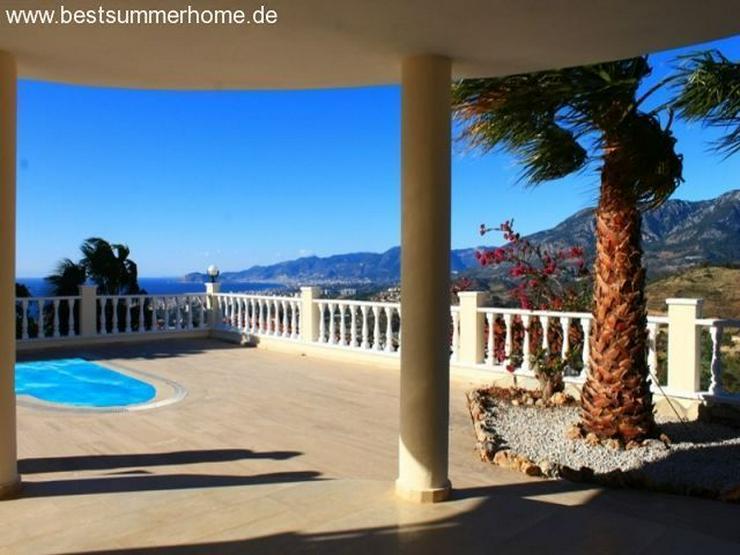 Bild 4: ***ALANYA REAL ESTATE*** Private Villa mit Meerblick und Privatpool in Karg?cak / Alanya