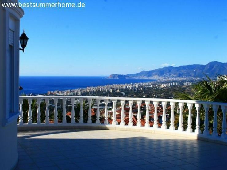 ***ALANYA REAL ESTATE*** Private Villa mit Meerblick und Privatpool in Karg?cak / Alanya - Haus kaufen - Bild 1
