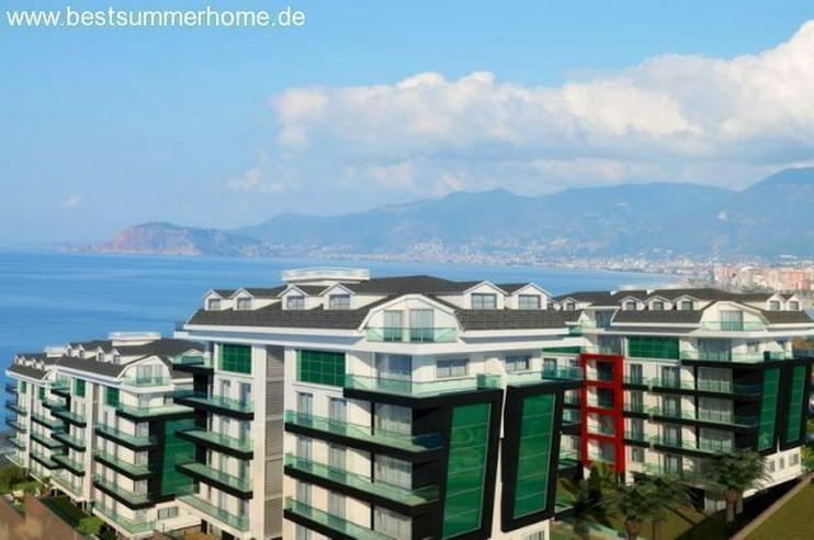***KARGICAK IMMOBILIEN***Moderne Residenz in dem wunderschönem Ort Kargicak mit Meerblick... - Wohnung kaufen - Bild 1