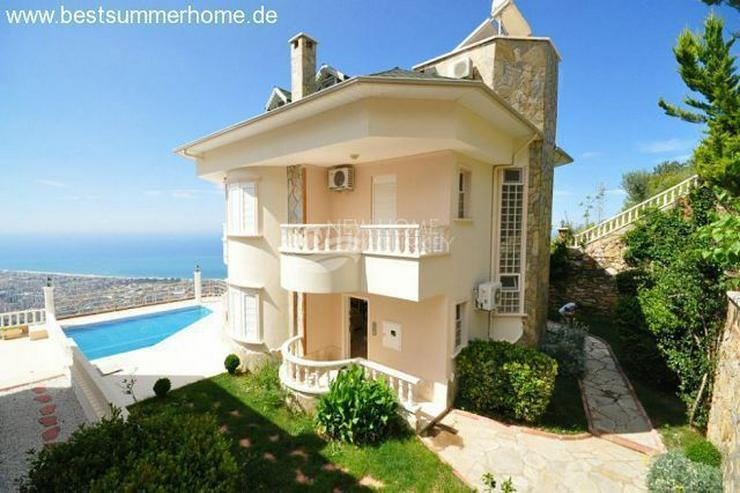 Bild 8: ***ALANYA REAL ESTATE*** Schön eingerichtete Luxus-Villa mit freiem Blick auf Das Mittelm...