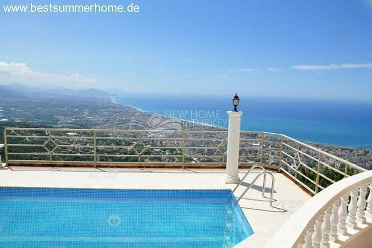***ALANYA REAL ESTATE*** Schön eingerichtete Luxus-Villa mit freiem Blick auf Das Mittelm... - Haus kaufen - Bild 1
