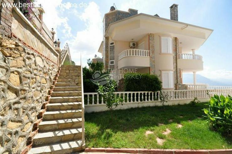 Bild 7: ***ALANYA REAL ESTATE*** Schön eingerichtete Luxus-Villa mit freiem Blick auf Das Mittelm...