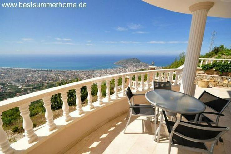 Bild 14: ***ALANYA REAL ESTATE*** Schön eingerichtete Luxus-Villa mit freiem Blick auf Das Mittelm...