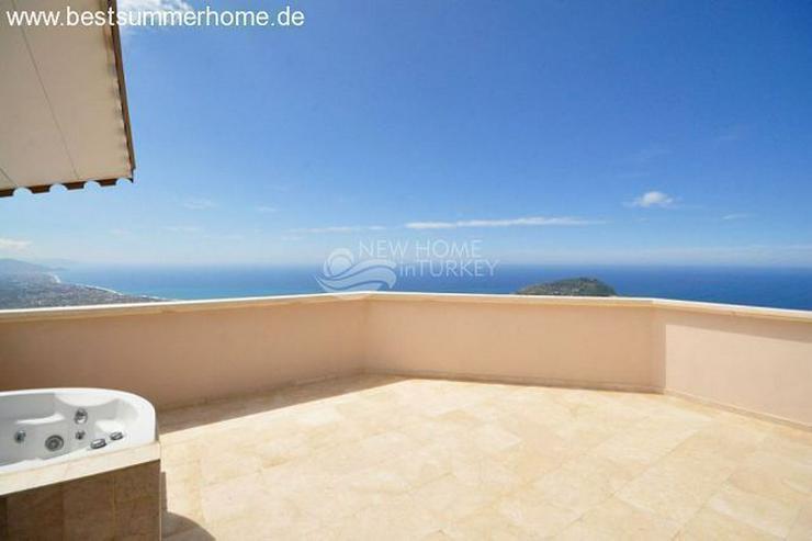 Bild 3: ***ALANYA REAL ESTATE*** Schön eingerichtete Luxus-Villa mit freiem Blick auf Das Mittelm...