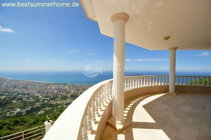 Bild 16: ***ALANYA REAL ESTATE*** Schön eingerichtete Luxus-Villa mit freiem Blick auf Das Mittelm...