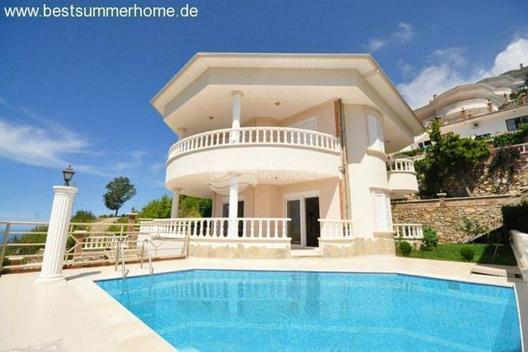 Bild 9: ***ALANYA REAL ESTATE*** Schön eingerichtete Luxus-Villa mit freiem Blick auf Das Mittelm...