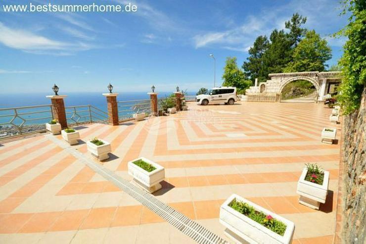 Bild 13: ***ALANYA REAL ESTATE*** Schön eingerichtete Luxus-Villa mit freiem Blick auf Das Mittelm...