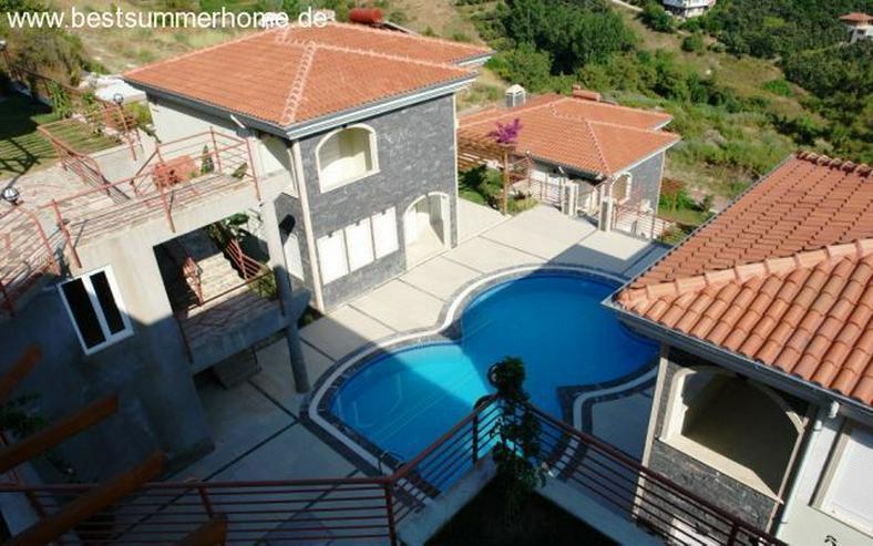 Bild 5: ***KARGICAK IMMOBILIEN*** Alanya schöne Villa am Hang mit atemberaubendem Meerblick !