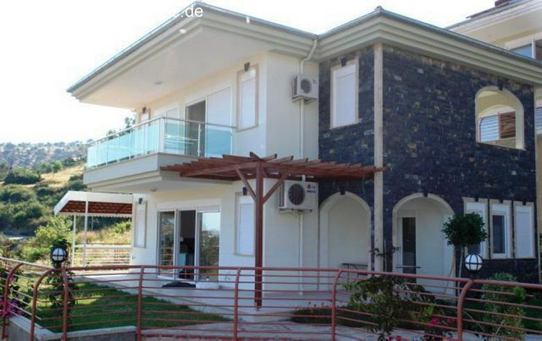 ***KARGICAK IMMOBILIEN*** Alanya schöne Villa am Hang mit atemberaubendem Meerblick !