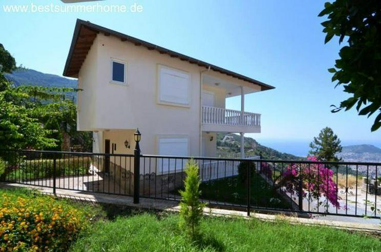 ***KARGICAK IMMOBILIEN***Möblierte Villa mit tollem Panoramaausblick auf Alanya in ruhige... - Haus kaufen - Bild 1