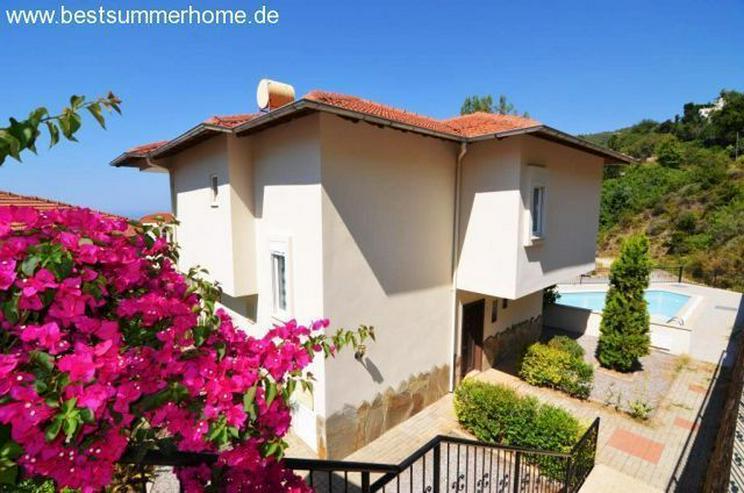Bild 3: ***KARGICAK IMMOBILIEN***Möblierte Villa mit tollem Panoramaausblick auf Alanya in ruhige...