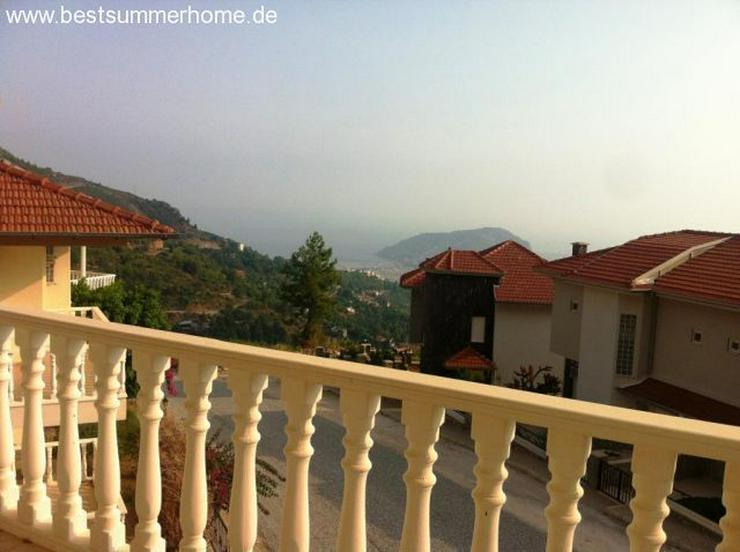 Bild 18: ***KARGICAK IMMOBILIEN***Möblierte Villa mit tollem Panoramaausblick auf Alanya in ruhige...
