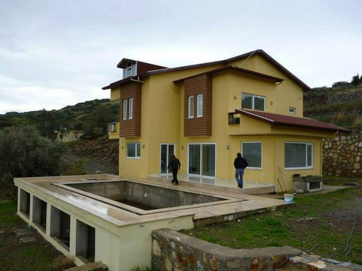 Bild 8: 6 Zimmer-Neubauhaus mit Meerblick, Privatpool, Einliegerwohnung Alanya Gazipasa Türkei