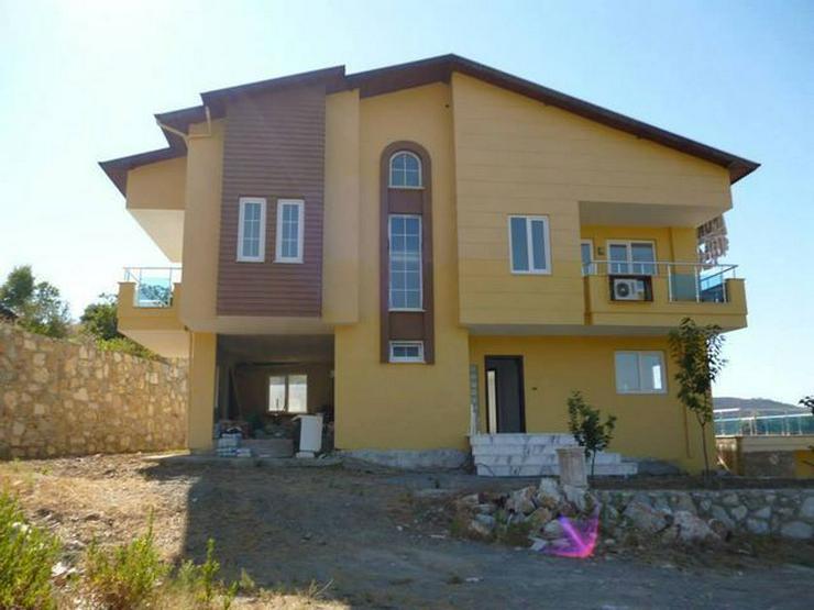6 Zimmer-Neubauhaus mit Meerblick, Privatpool, Einliegerwohnung Alanya Gazipasa Türkei - Haus kaufen - Bild 1
