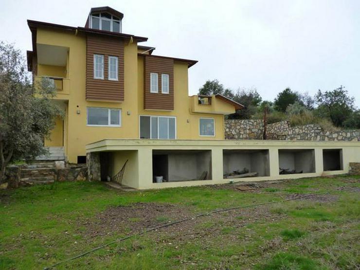 Bild 13: 6 Zimmer-Neubauhaus mit Meerblick, Privatpool, Einliegerwohnung Alanya Gazipasa Türkei