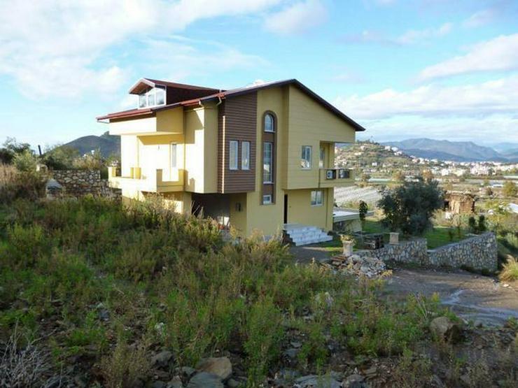 Bild 18: 6 Zimmer-Neubauhaus mit Meerblick, Privatpool, Einliegerwohnung Alanya Gazipasa Türkei