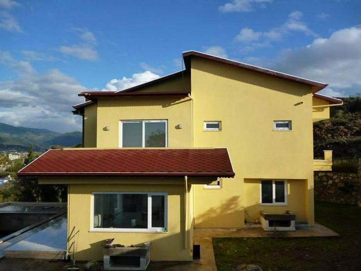 Bild 16: 6 Zimmer-Neubauhaus mit Meerblick, Privatpool, Einliegerwohnung Alanya Gazipasa Türkei