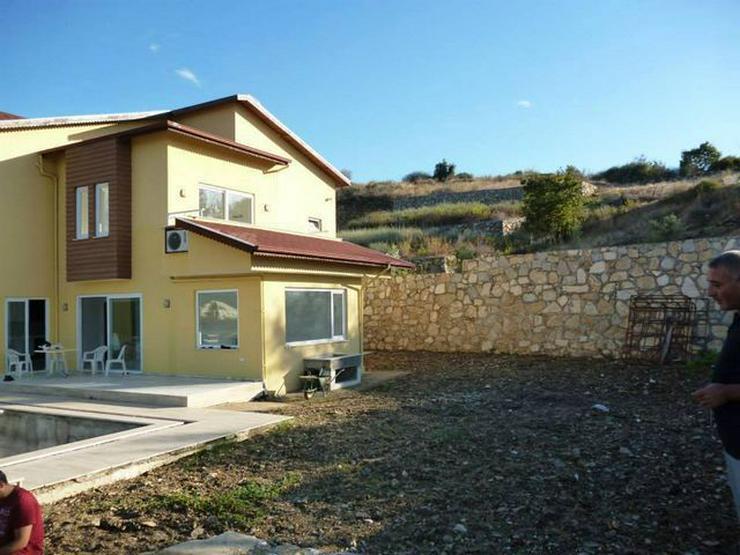 Bild 11: 6 Zimmer-Neubauhaus mit Meerblick, Privatpool, Einliegerwohnung Alanya Gazipasa Türkei