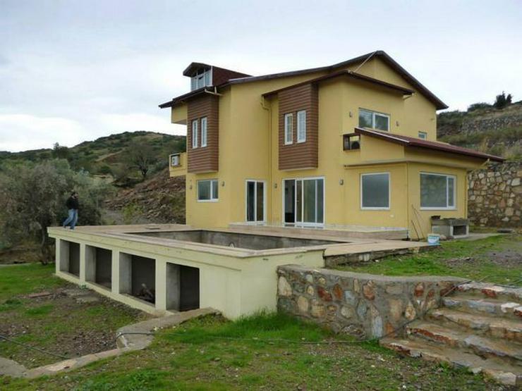 Bild 4: 6 Zimmer-Neubauhaus mit Meerblick, Privatpool, Einliegerwohnung Alanya Gazipasa Türkei
