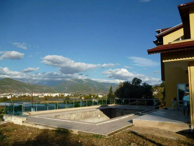 Bild 9: 6 Zimmer-Neubauhaus mit Meerblick, Privatpool, Einliegerwohnung Alanya Gazipasa Türkei